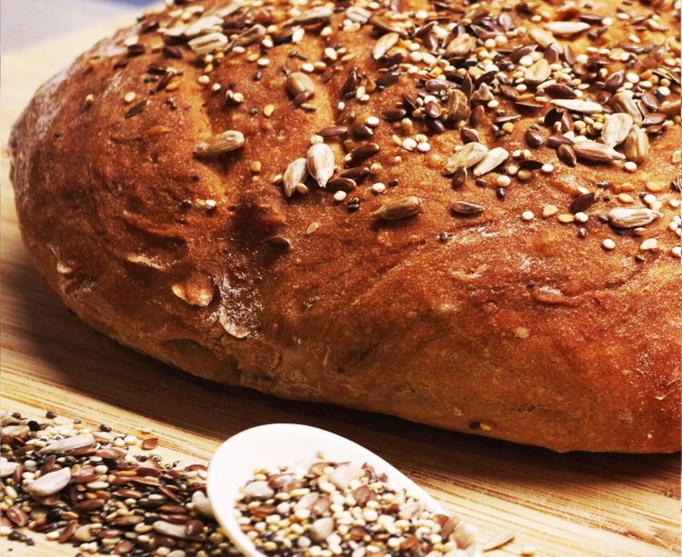 ψωμι ολικης αλεσης ηλιοσποροι jonakos.gr