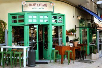 Γεύσεις θάλασσας και Μεσογείου στον Πειραιά Hams and Clams jonakos.gr Πειραιάς
