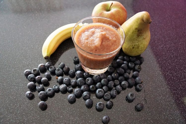 smoothies αχλαδι bluberry jonakos.gr
