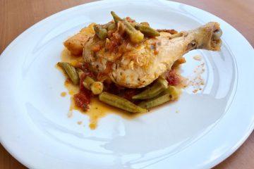 Κοτόπουλο με μπάμιες συνταγή για κοτόπουλο συνταγή κοτόπουλο με μπάμιες
