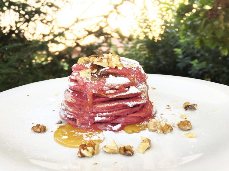 χρωματιστά pancakes ζύμη για pancakes pancakes συνταγή pancakes jonakos.gr