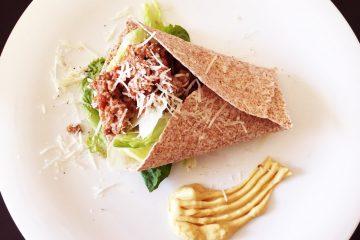 Quesadilla με wraps ολικής αλέσεως και κιμά συνταγή για Μεξικάνικο jonakos.gr