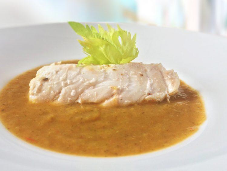 βελουτέ σούπα ψάρι ψαρόσουπα