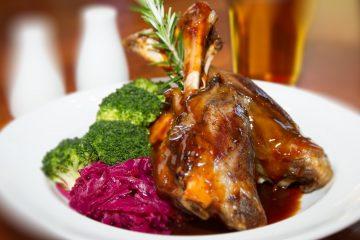 αρνί γιορτινή συνταγή κόκκινο λάχανο