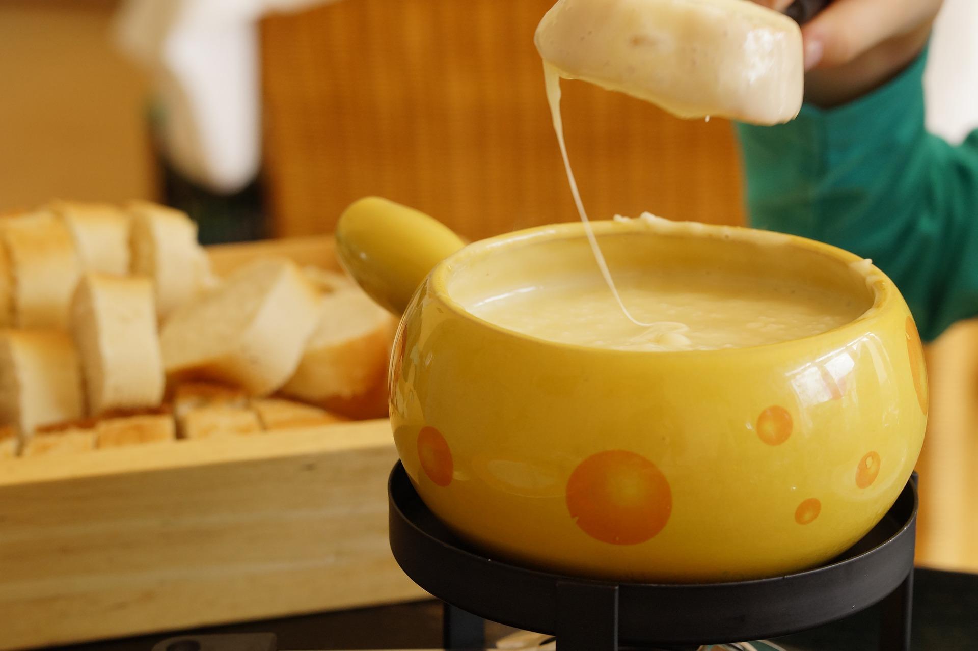 φοντύ τυριών τυρί