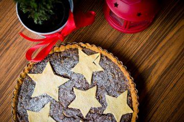 Χριστουγεννιάτικη τάρτα χριστούγεννα γλυκό βασιλόπιτα