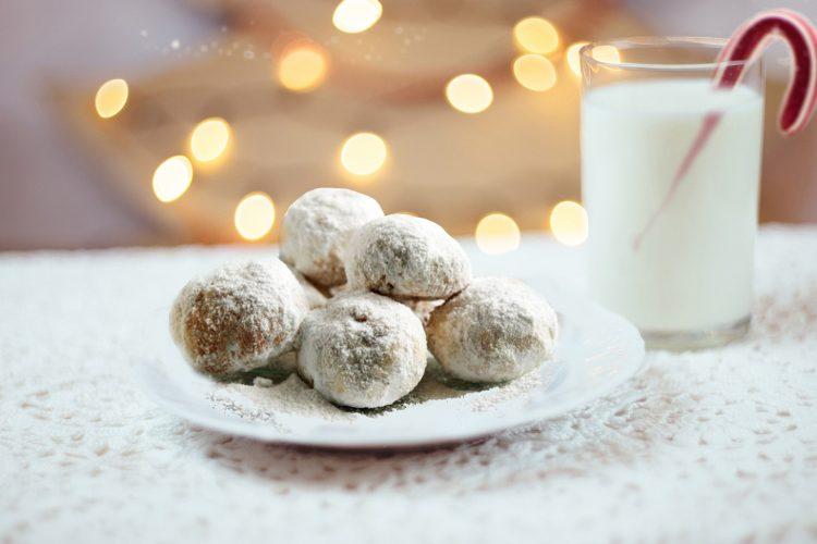 συνταγή για κουραμπιέδες χριστουγεννιάτικοι κουραμπιέδες