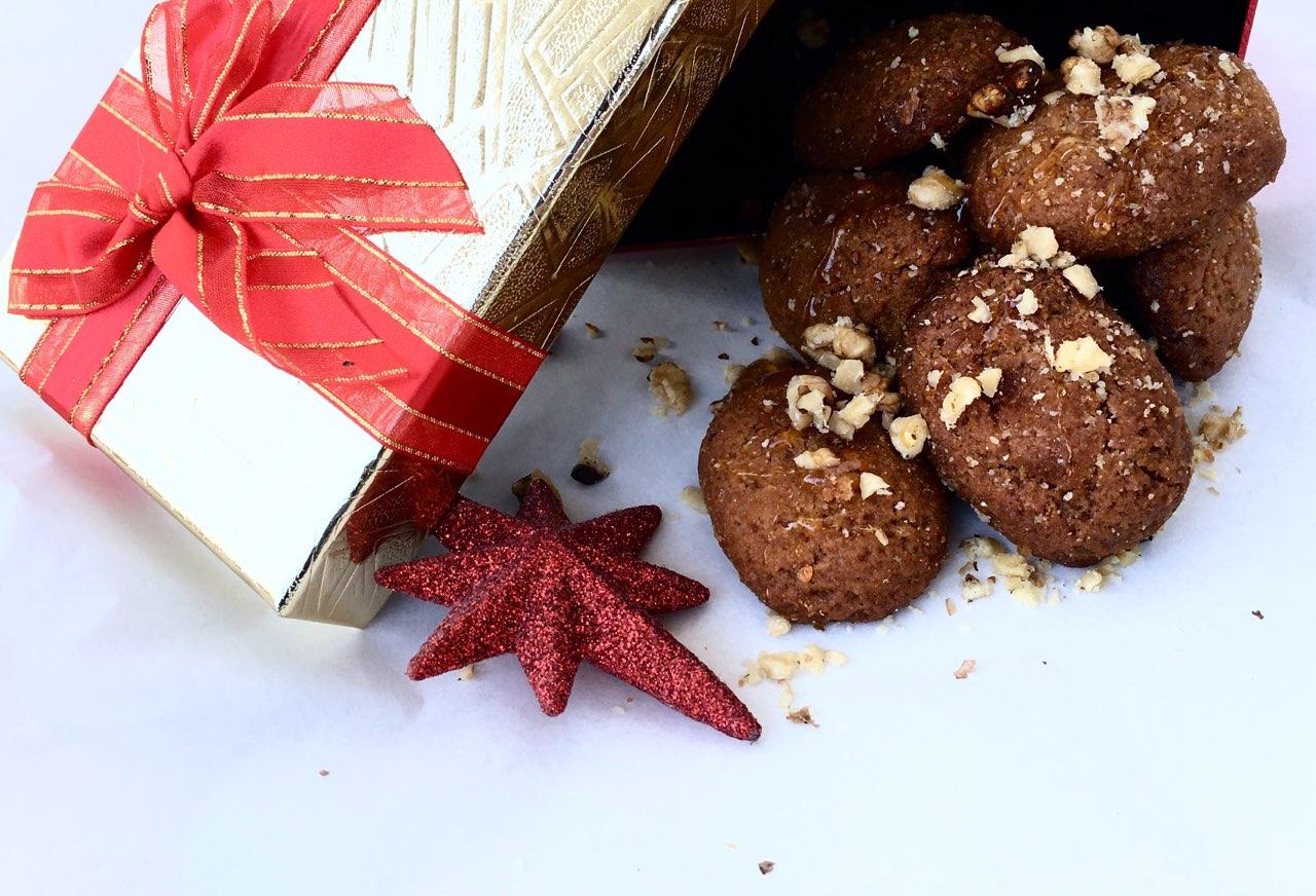 μελομακάρονα jonakosgr μέλι Χριστουγεννιάτικο γλυκό