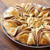 κρουασανόπιτα πίτα πραλίνα φουντουκιού κρουασα σοκολάτα