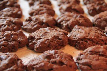 μπισκότα σοκολάτας μαλακά σοκολατένια μπισκότα νόστιμα