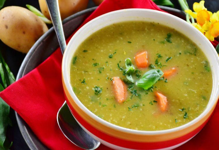 πατατόσουπα σούπα ορεκτικό νόστιμη σούπα