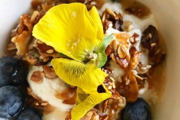 γκρανόλα Κώστας Μαγουλάς πρωινό χωρίς λακτόζη υγιεινά και εναλλακτικά συνταγή