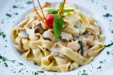 ιταλική συνταγή για μακαρόνια ταλιατέλες alfredo