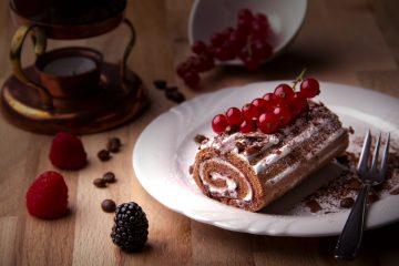 κορμός σοκολάτα κρέμα ζαχαροπλαστικής γλυκό σοκολάτα