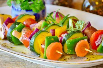 Σουβλάκια Λαχανικών