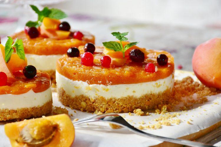 cheesecake ροδάκινο ταρτα ροδάκινο ροδάκινο μαρμελάδα